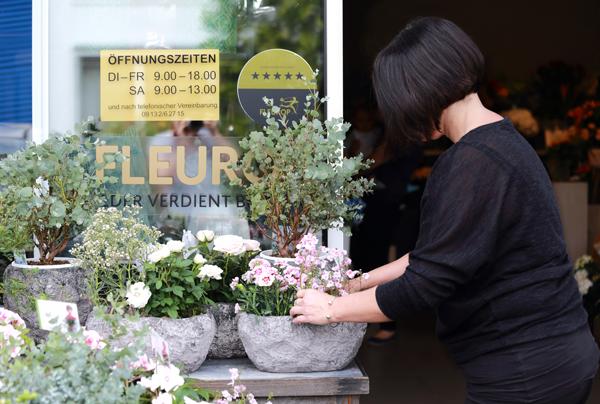 Fleurop 5 Sterne Auszeichnung für die Blumengalerie in Herzogenaurach.